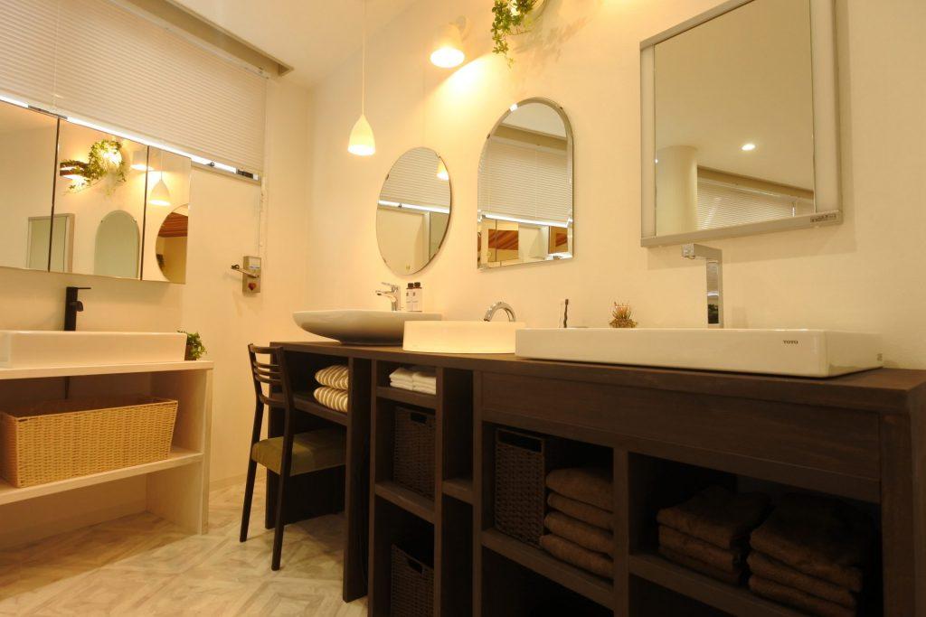 八戸市オリジナル洗面リフォームショールーム