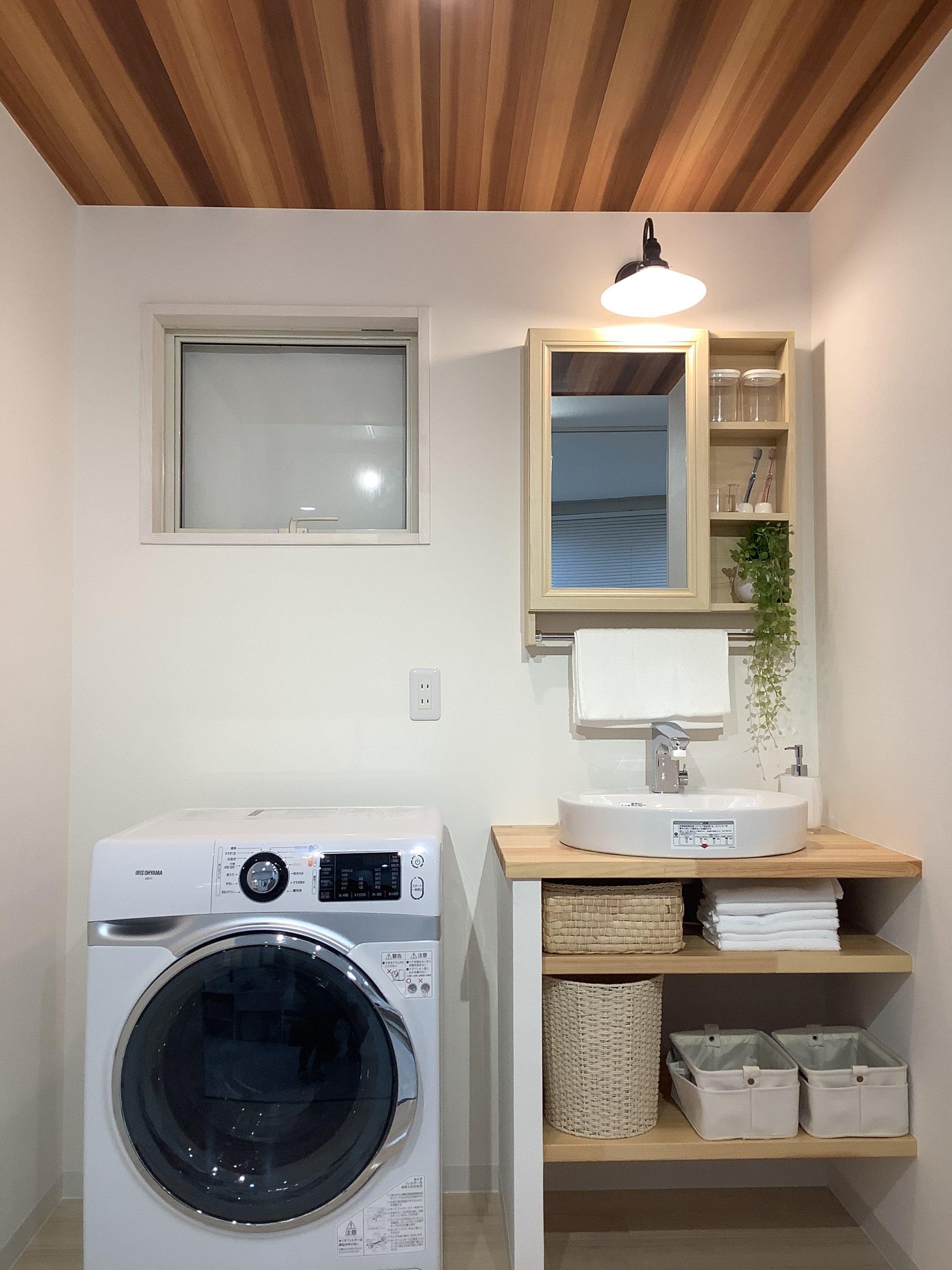 八戸市デザイン造作洗面ショールーム